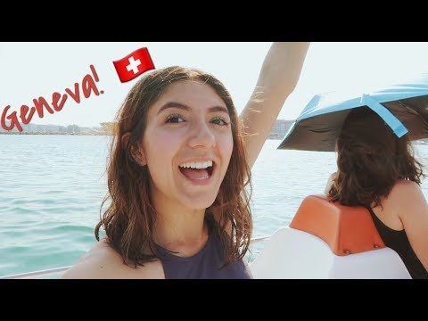 Swimming in Lake Geneva!