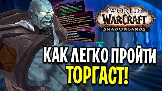 КАК ЛЕГКО ПРОЙТИ ТОРГАСТ!? НОВАЯ СИСТЕМА в World of Warcraft: Shadowlands