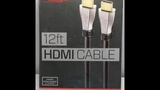 HDMI for new 4k UHD Tv,  Unboxing!