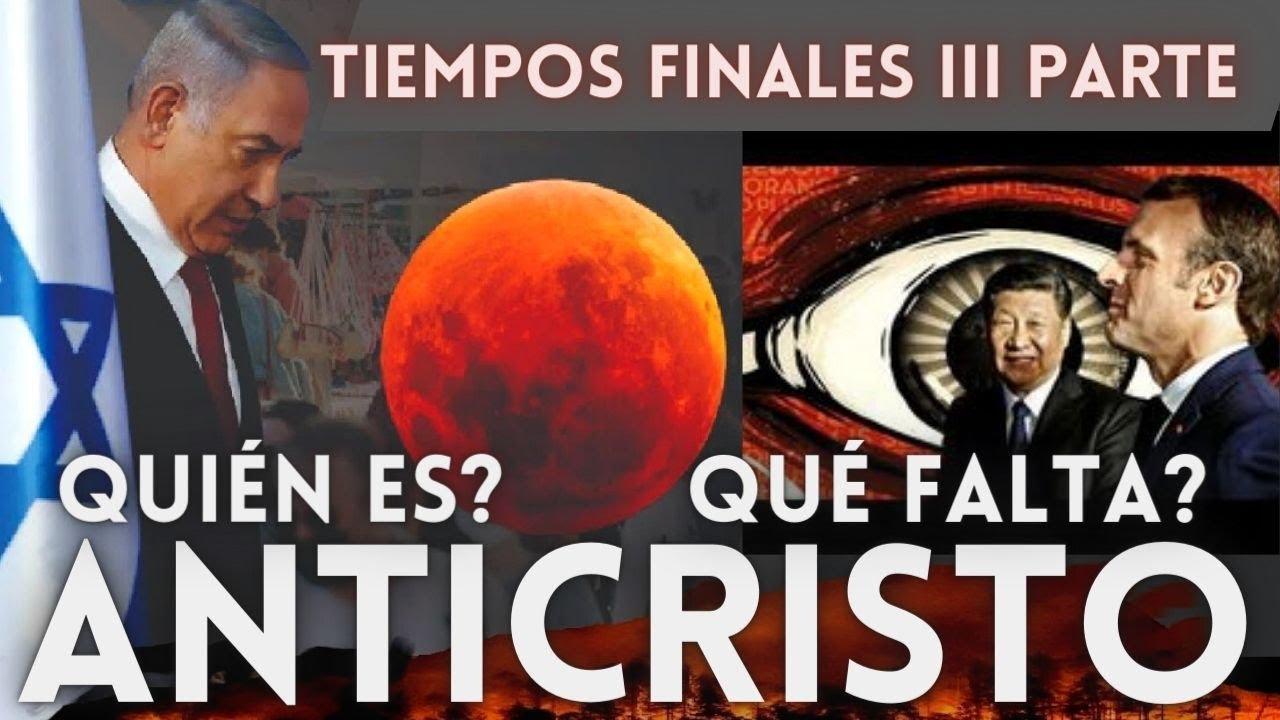 EL MESIAS(ANTICRISTO)❗QUIÉN ES🔴QUÉ FALTA❓POR QUÉ NO SE REVELA🔥TIEMPOS FINALES III PARTE SANDRO RUEDA