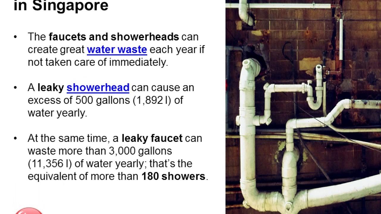 Repairing Leaking Pipes in Singapore - YouTube