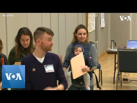 Americans Vote In Congressional Election