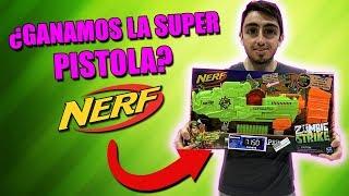 ¿Me Gane la Super Nerf Zombie Strike Solo Con Tickets?
