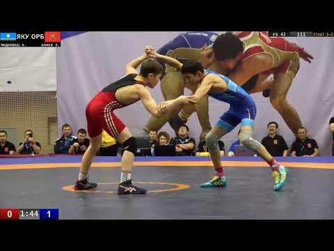 Первенство России U18 Финал Андрей Мидловец - Эльдар Алиев в/к до 42 кг