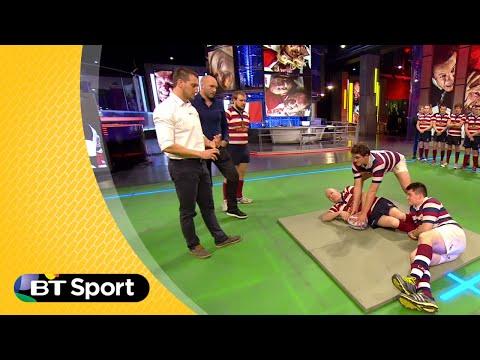 Pitch Demo: Sam Warburton breakdown masterclass | Rugby Tonight