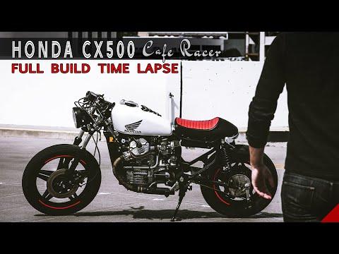 Honda CX500 Cafe Racer Build START TO FINISH Time Lapse