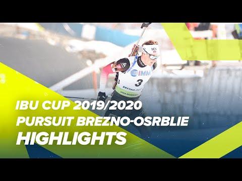 Brezno-Osrblie Highlights Men Pursuit IBU Cup 2019/2020