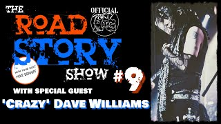 The Party Hog Road Story Show #9 with 'Crazy' Dave Williams