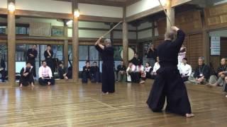 神道夢想流棒術 演武 2016年 鹿島神宮