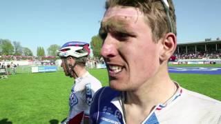 Paris-Roubaix : Réaction d'Arnaud Démare 6e