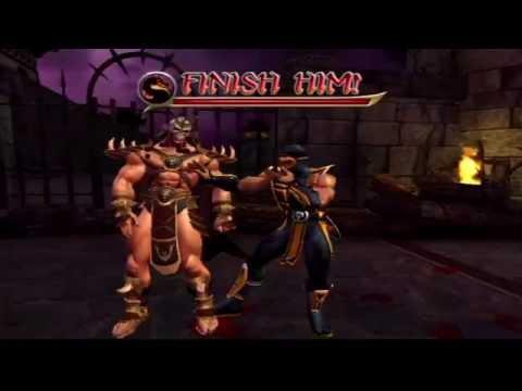 Mortal Kombat: Armageddon (PlayStation 2) Arcade as Scorpion