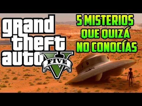 GTA V - 5 Misterios Que Quizá No Conocías (GTA 5)
