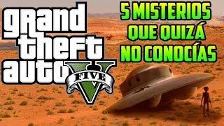 GTA V - 5 Misterios Que Quizá No Conocías (GTA 5) thumbnail