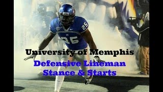 Play Like A Pro! - Defensive Lineman Stance & Start - Sports Takeoff