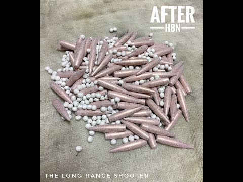 Coating bullets with HBN Start to Finish!