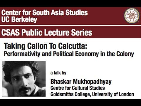 Taking Callon To Calcutta: Performativity and Political Economy in the Colony