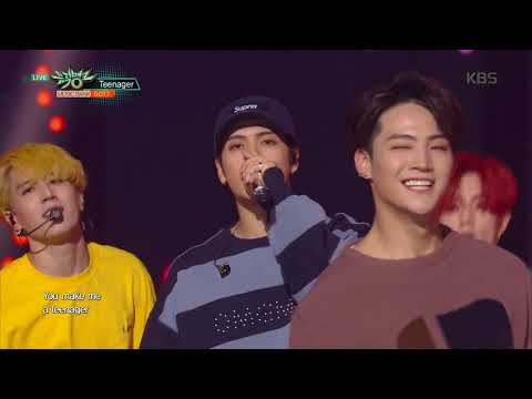 뮤직뱅크 Music Bank - Teenager - GOT7.20171013