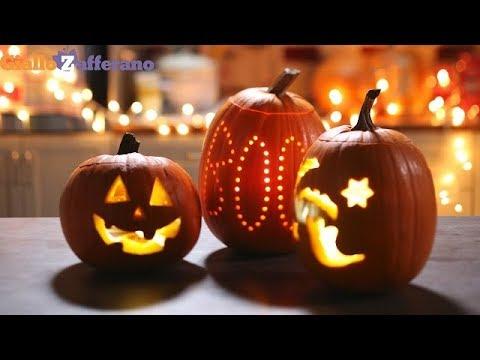 Come Fare La Zucca Di Halloween Video.Come Intagliare La Zucca Di Halloween Il Tutorial Passo Passo Di Giallozafferano Youtube