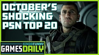 October's Shocking PSN Top 20 - Kinda Funny Games Daily 11.06.19