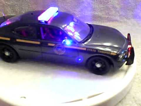 Nys Police Dodge Charger With Working Lights And Siren
