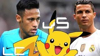 Neymar jr Magic vs C.Ronaldo Machine Pokemon Ü Dribles e Gols 15|16|17