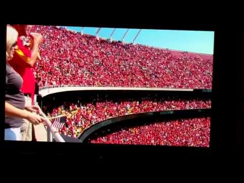 9-11-11 Arrowhead Stadium National Anthem/ David Cook