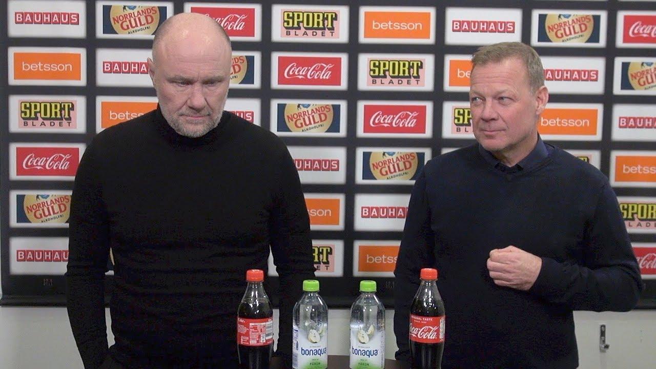 Presskonferens: Luleå - Brynäs (14/1)