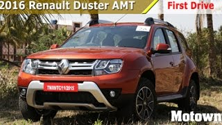 2016 New Renault Duster AMT | First Drive | Motown India