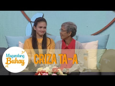 Magandang Buhay: Criza gets emotional as she talks about her grandmother