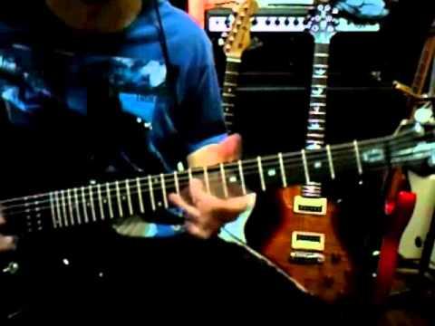 Ady Qays Guitar Jam - Iced Earth - Ten Thousand Strong
