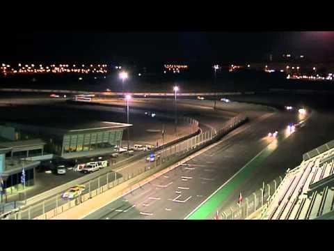 Hankook 24H DUBAI 2015 | Night Practice