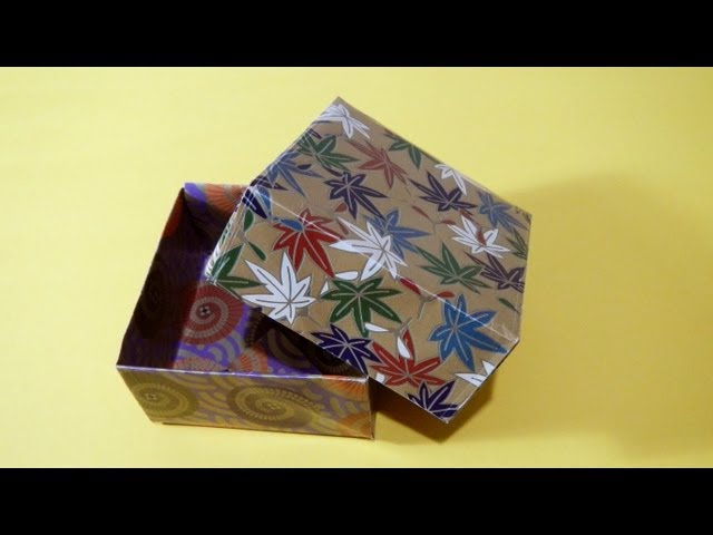 DIY Valentine gift box with star shaped lid. REALLY EASY Origami ... | 480x640