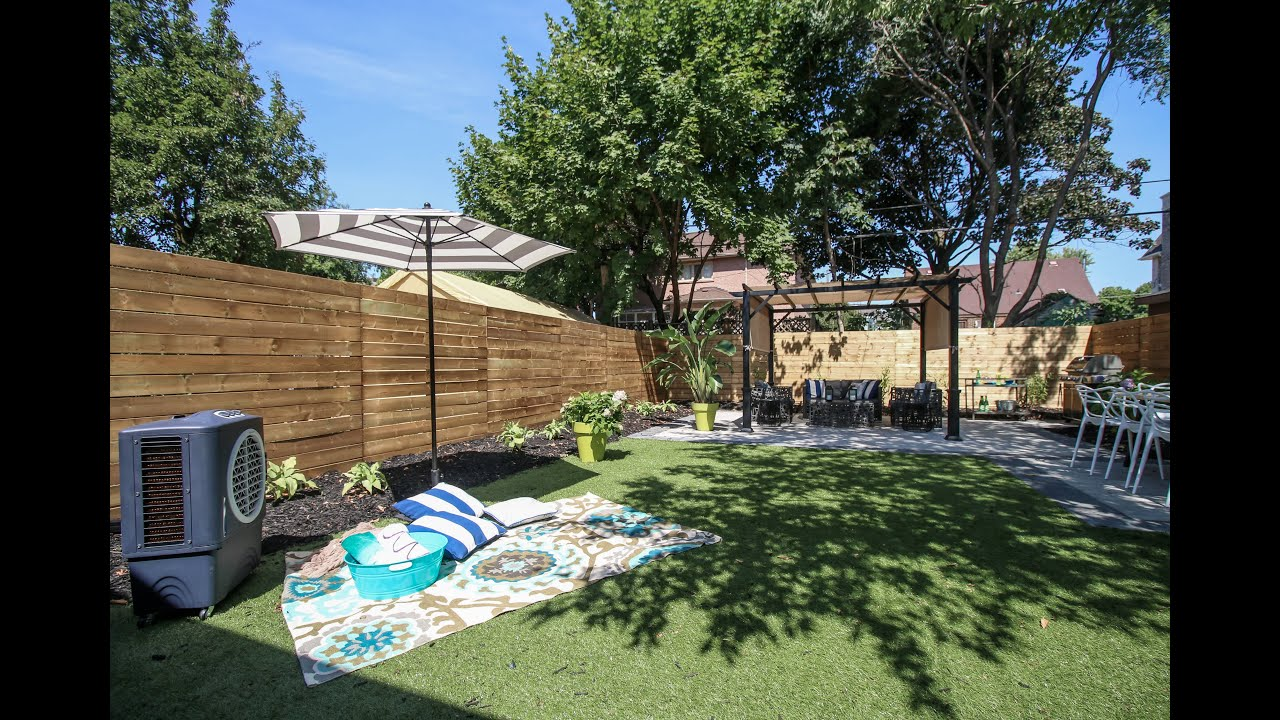 Nice This Kid Friendly Backyard Renovation Took Only 3 Weeks To Complete    YouTube