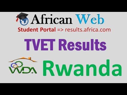 www.wda.gov.rw  TVET National Exams Result 2017-18 How to check?