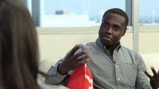Dayo Okeniyi on The Hunger Games Audition  Jennifer Lawrence