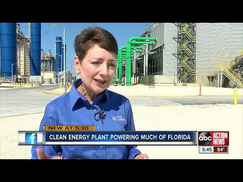 Duke Energy clean energy plant power much of Florida