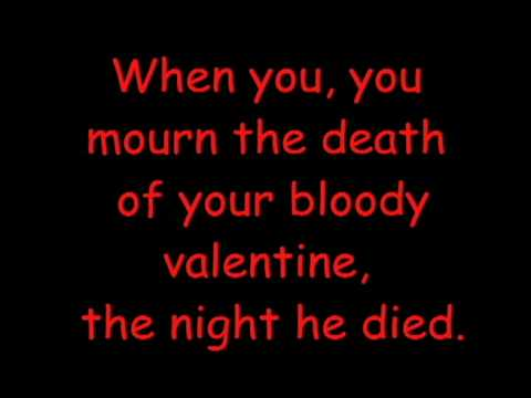 My Bloody Valentine by Good Charlotte *LYRICS!*