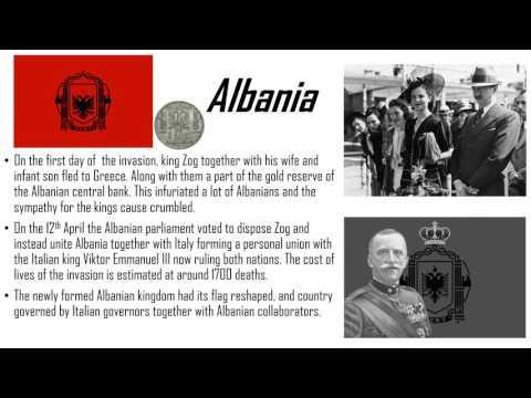 Albania - During World war 2