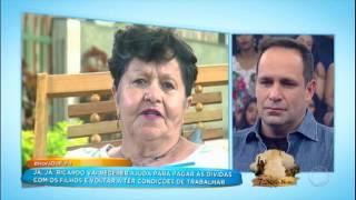 Mãe de ex-Polegar não vai ao palco, mas grava vídeo aceitando o pedido de perdão do filho