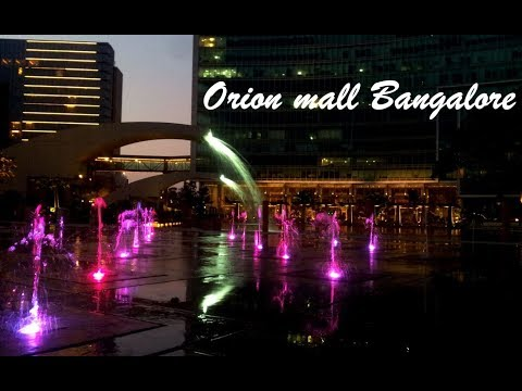 A visit to the popular ORION MALL in Bangalore- 2018