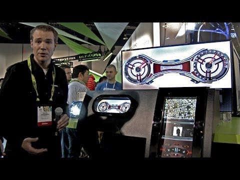 NVIDIA in your car? (Project Mercury - CES 2014)