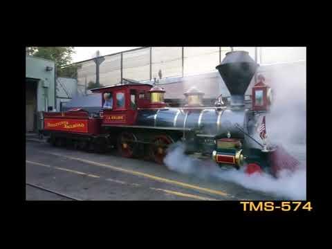Youtube Disneyland Railroad