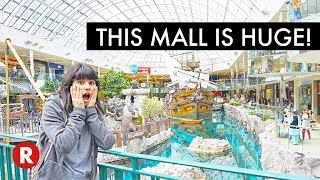 LARGEST MALL IN NORTH AMERICA!!! | West Edmonton Mall