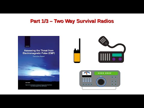 Post-Disaster Communications: Part 1/3 – Two Way Survival Radios With Marshall Masters