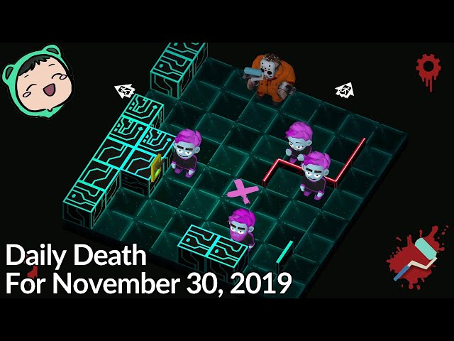 Friday The 13th: Killer Puzzle - Daily Death for November 30, 2019