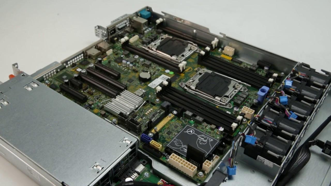 Dell Storage NX430: Install iDRAC Ports Card