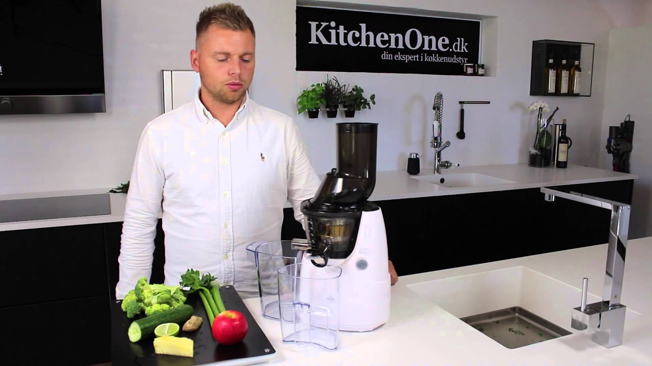 Kuvings B6000 / B6100 Slow Juicer - YouTube