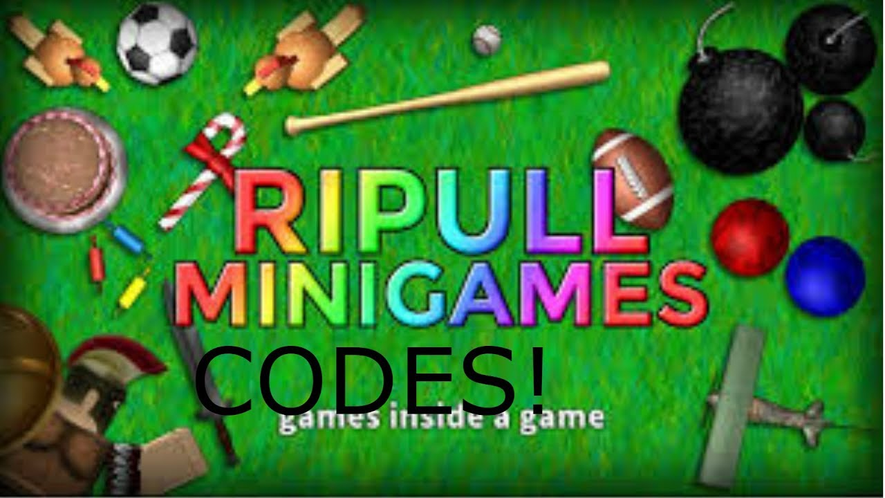 Roblox Ripull Minigames All Codes May 2018 - ripull minigames roblox codes