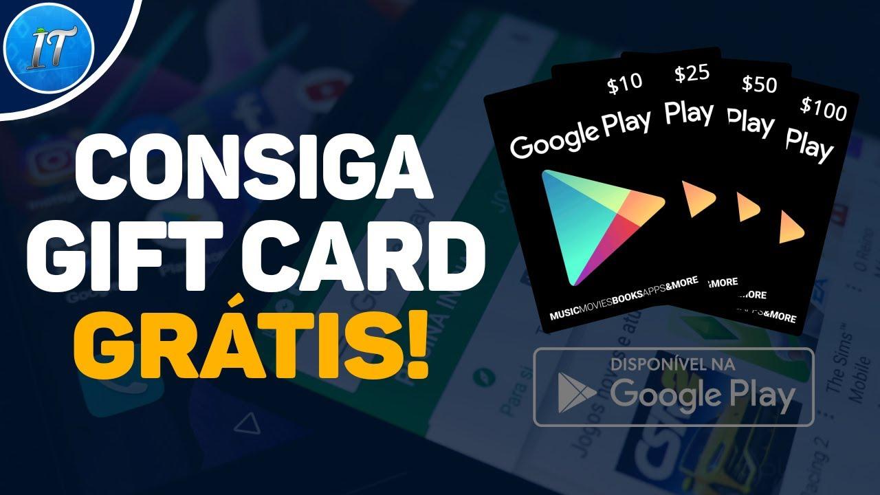Como Ganhar Gift Card de Graça [na Google Play Store] - Grátis! Rápido e Fácil 2020! Atualizado!