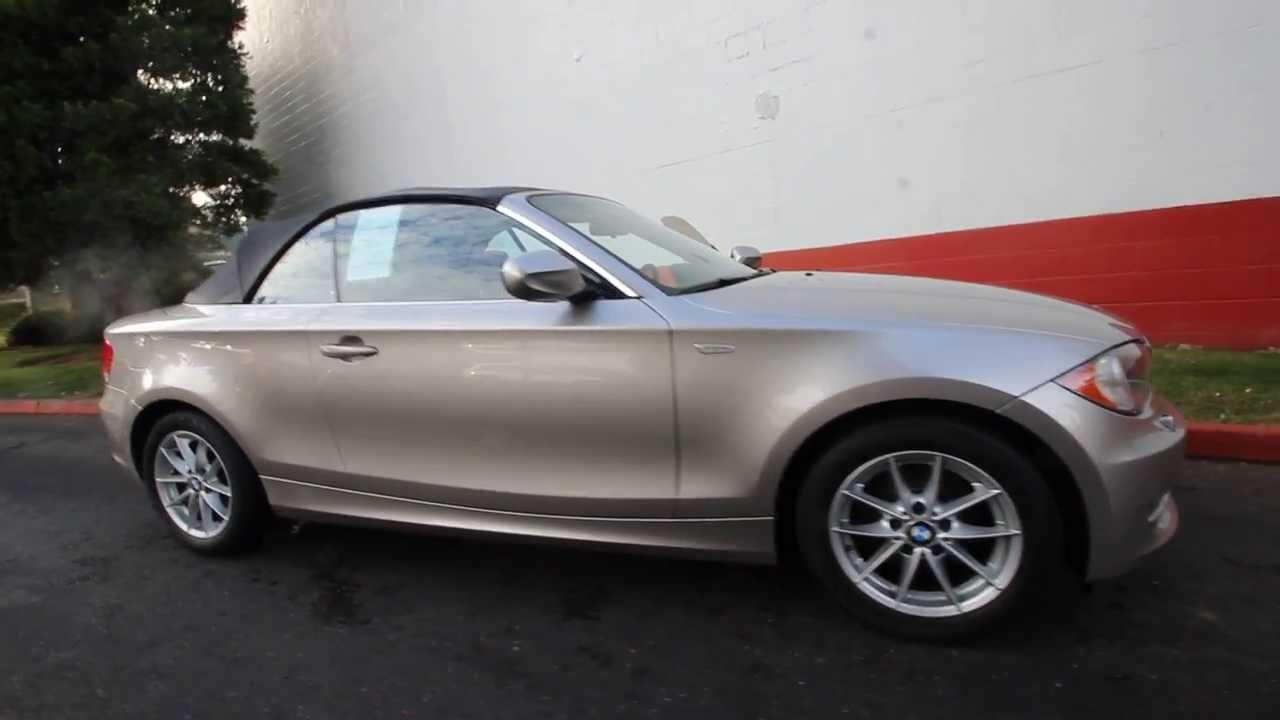 Bmw Of Bellevue >> 2011 BMW 128i | BVM80307 | Cashmere Silver Metallic ...